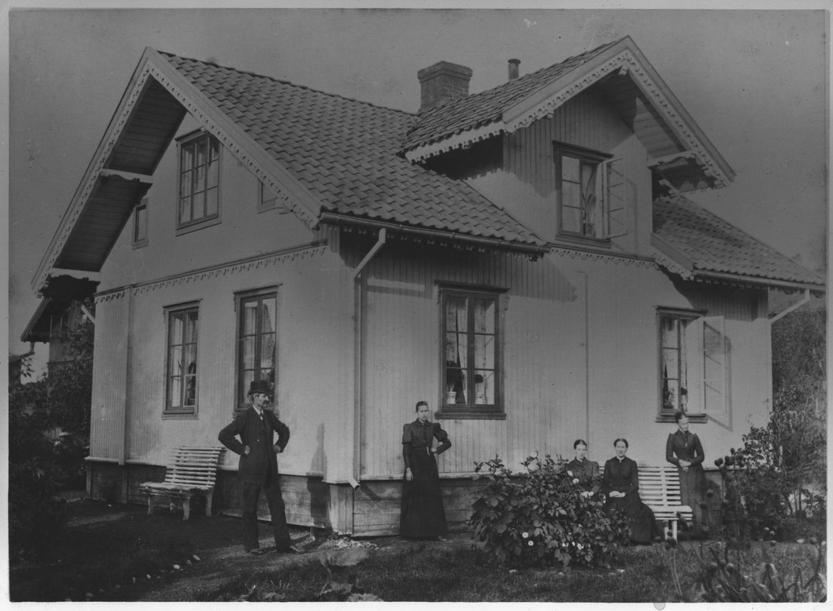 Frøknene Haneborgs bolig.