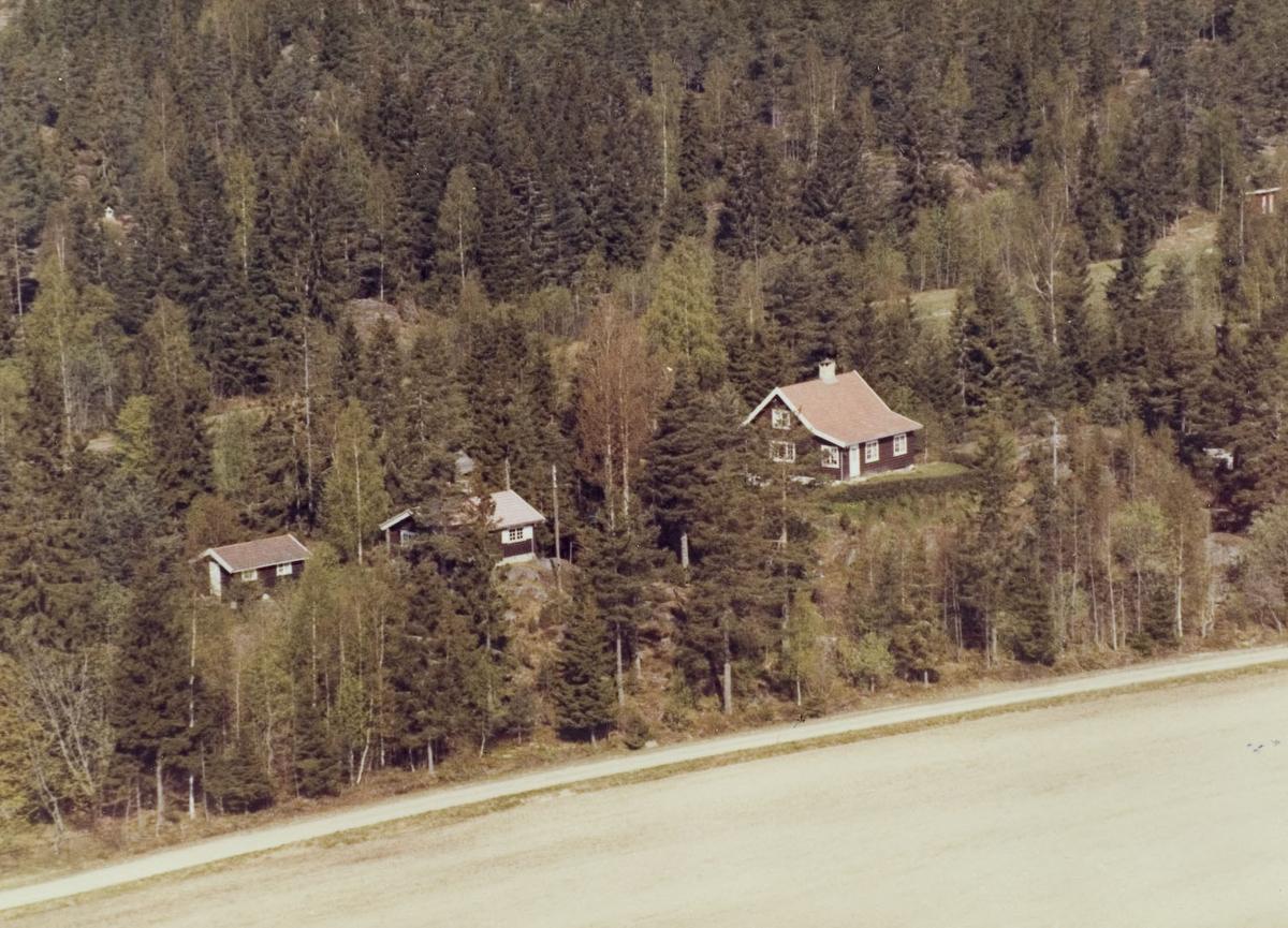 Hyttebebyggelse ved Hektnersletta.