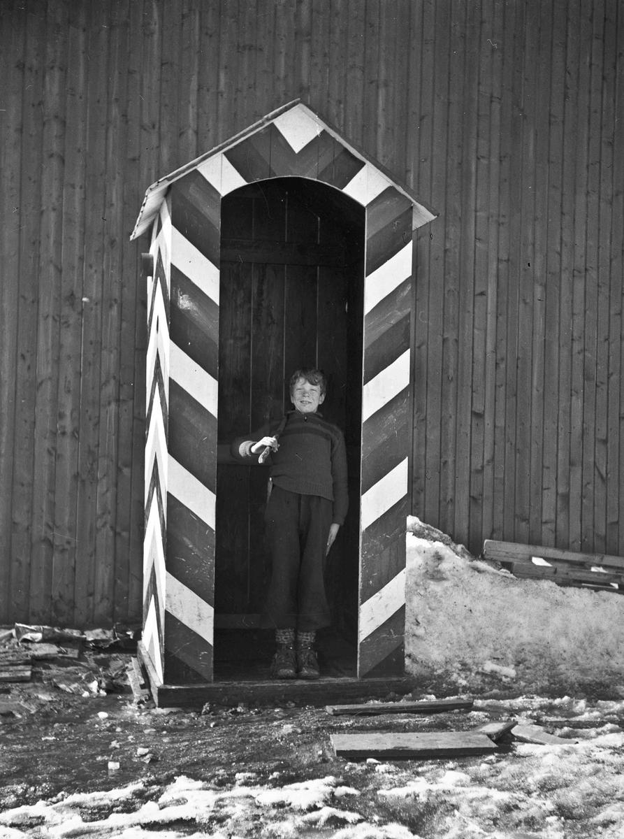 Reidar Hoel i tysk skiderhus (Torvet).