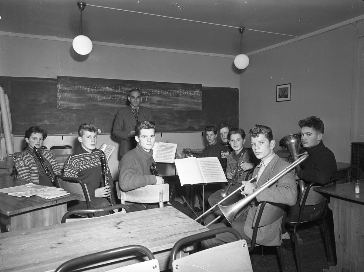Musikktime. Solbakken Folkehøyskole.