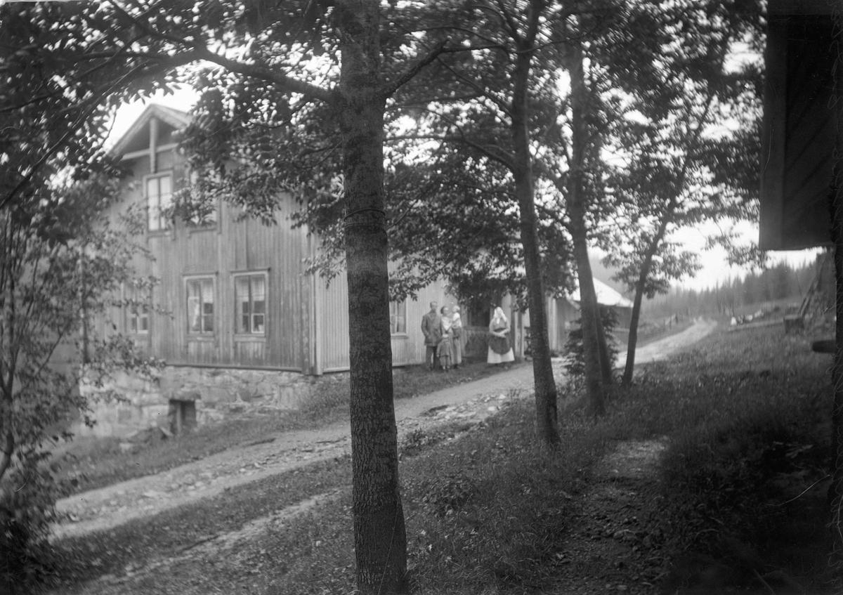 Peder Lesja, Gullverket, gård 1924