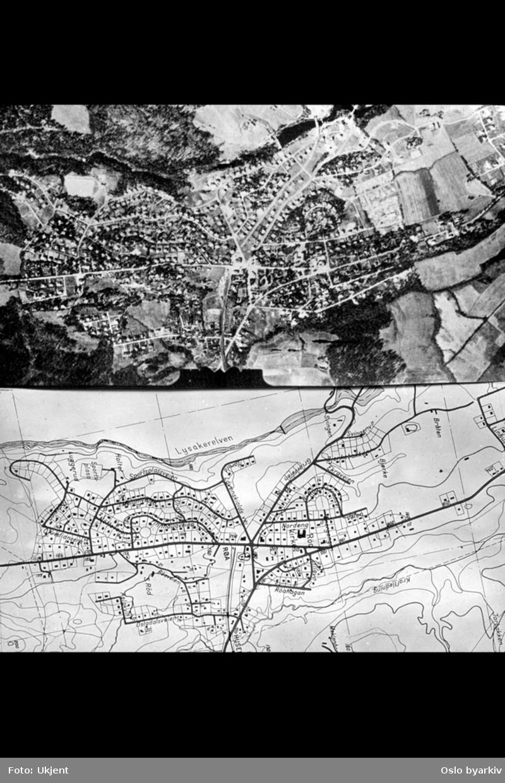 flyfoto kart Oslo   Aker kart, flyfoto   Oslo byarkiv / DigitaltMuseum flyfoto kart