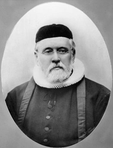 PREST GUSTAV SOPHUS JANKE, 1836 - 1905, PREST I LØTEN KIRKE FRA 1895-1902
