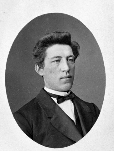 KLOKKER O. NILSEN 1873-1912. PORTRETT. EIER: OLE KRISTEN SOLBERG, 2340 LØTEN.