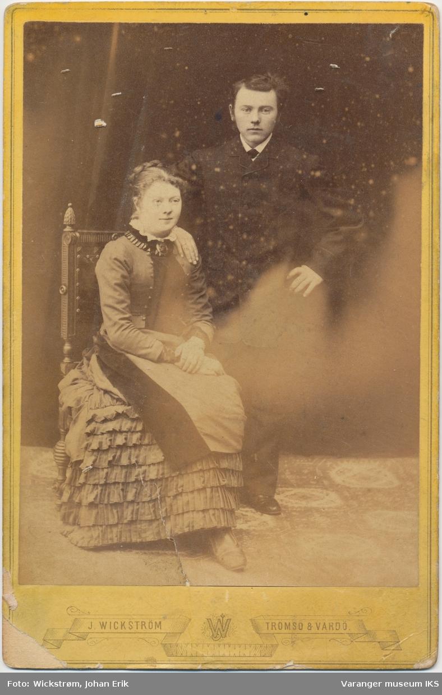 Dobbeltportrett, kvinne og mann