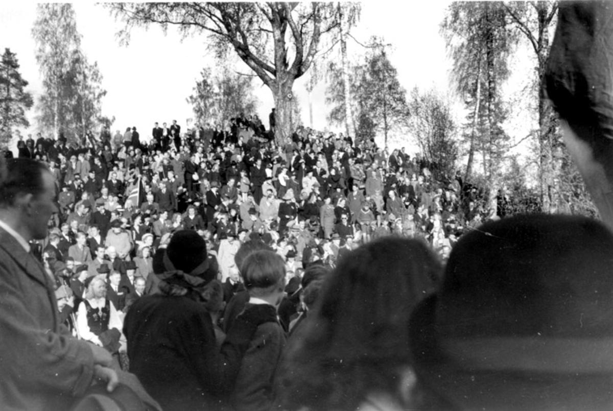 17. mai 1945 på Festningen
