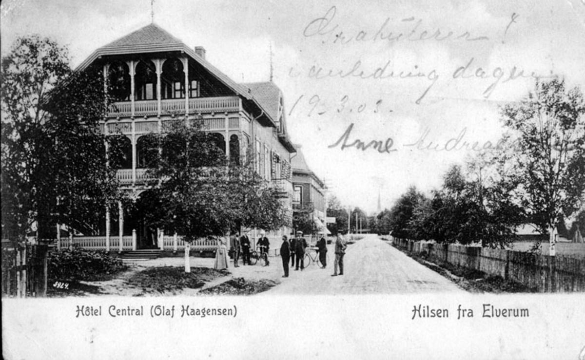 Hotel Central, ca. 1902