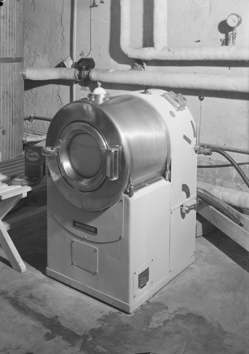 Vaskemaskin ved A/S Betonbygg