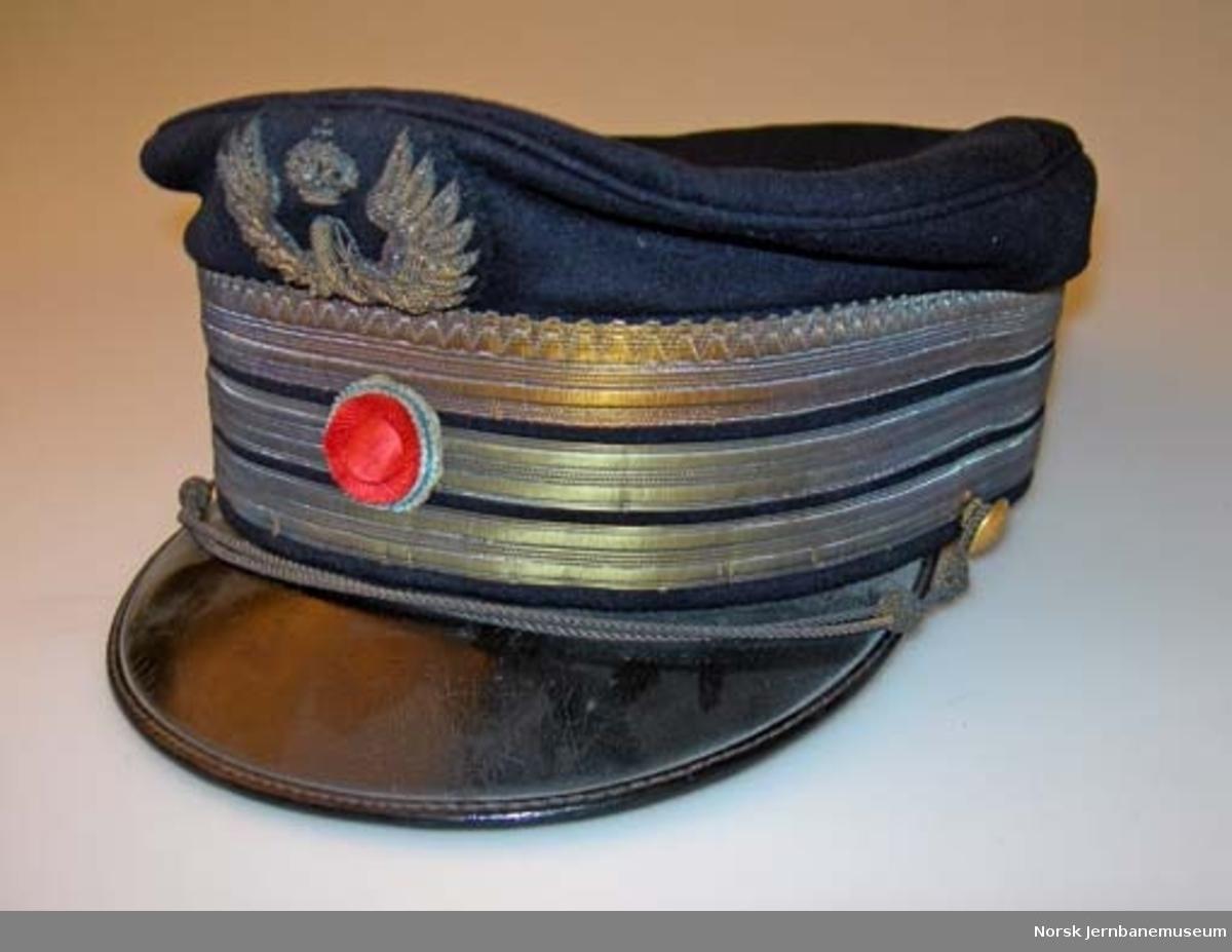 Uniformslue for generaldirektør