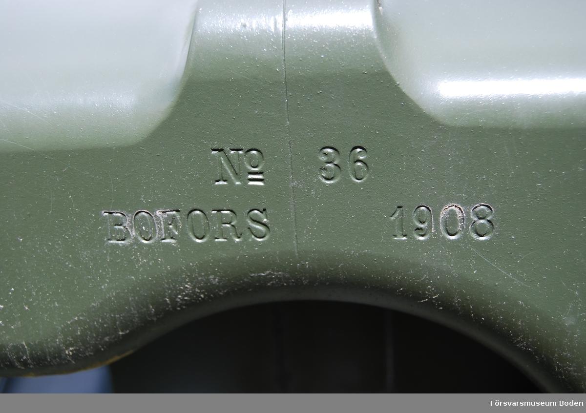 Tillverkningsnummer 36, Bofors 1908.