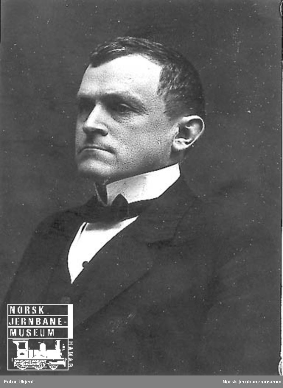 Portrett av overingeniør Hans Jørgen Darre-Jenssen