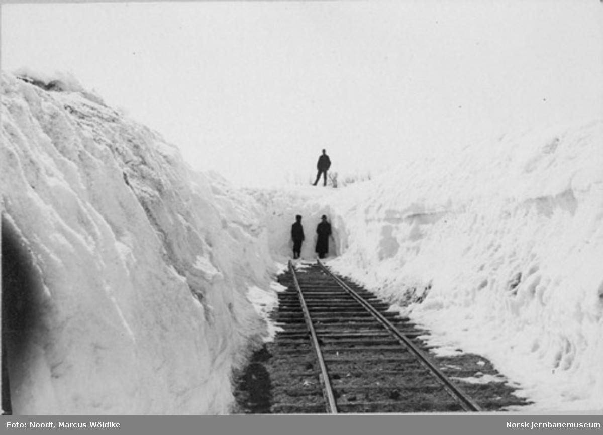 Arvedalslinjen (Kongens Grubes bane) endepunkt ved Arvedals rampe