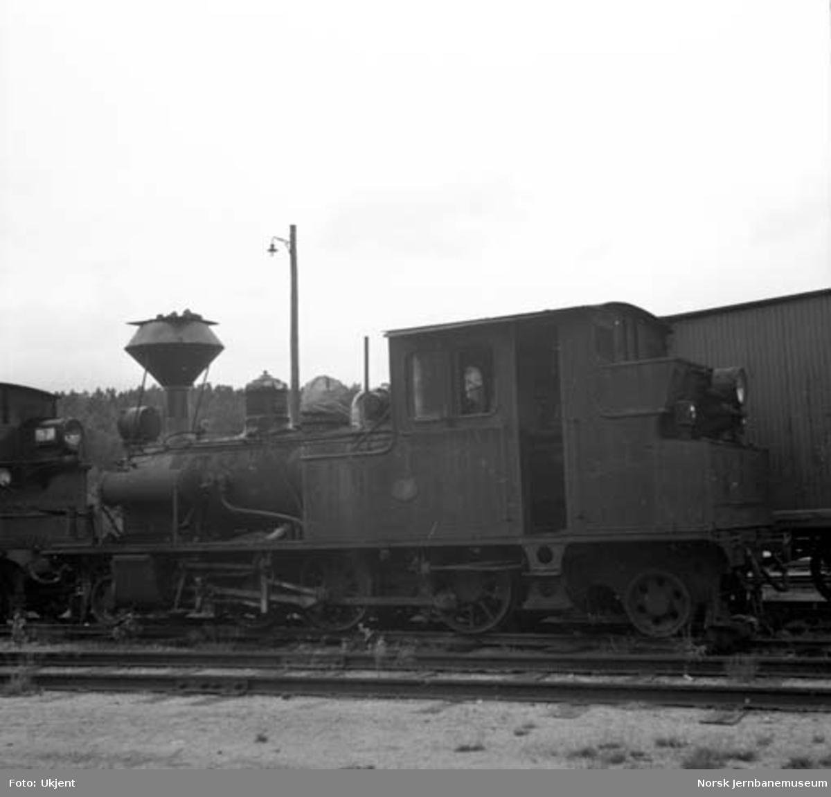 Setesdalsbanens damplokomotiv type XXI nr. 1
