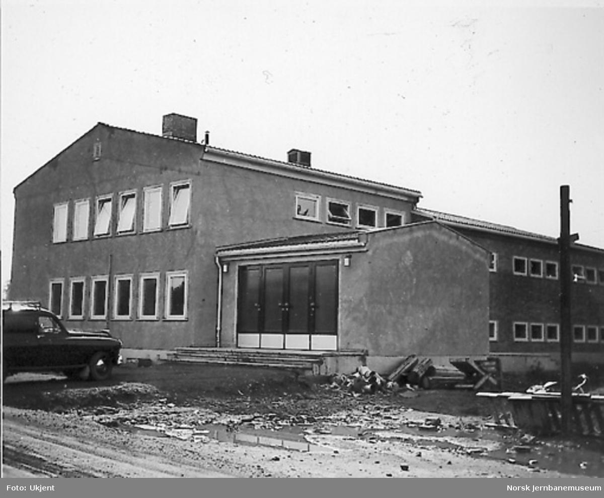 Nytt museum Martodden : det nye museumsbygget begynner å bli ferdig