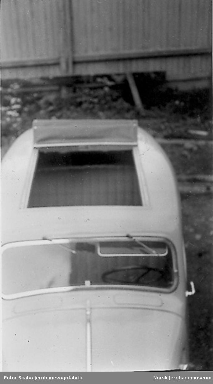 """Solskinnstak """"Sunsalon"""" til personbil"""