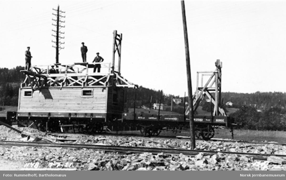 Drammenbanens elektrifisering : momtasjevogner