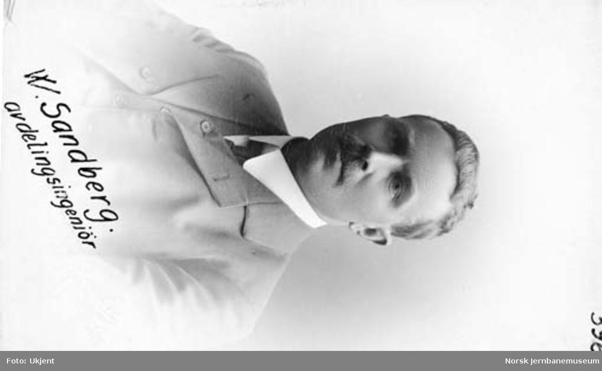 Avdelingsingeniør Wilhelm Sandberg