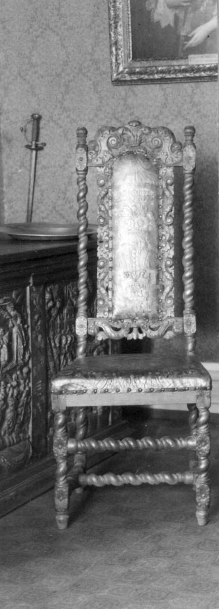 Barokk, møbler, stol